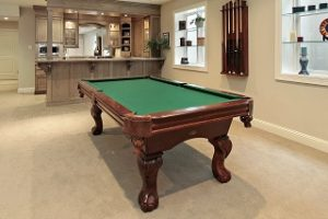 Pool table refelting, Lake Tahoe and Reno Nevada