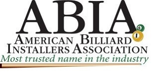 ABIA LOGO Pool Table Refelting