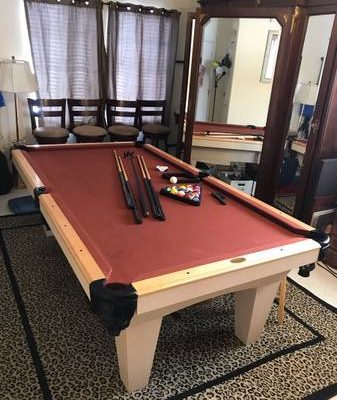 Connelly 8 ft Pool Table (SOLD)