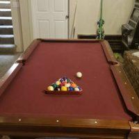 8ft. Olhausen Billiards Table