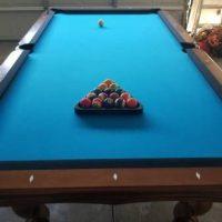 Olhausen Bordeaux Pool Table