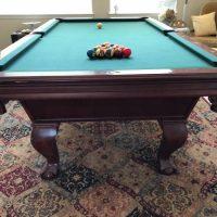 """1"""" Slate Pool Table"""