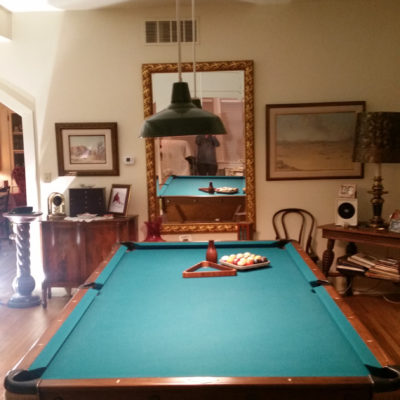 8 ft. Brunswick Pool Table made by August Jungblunt Co.