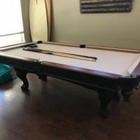 Oversized 8' Pool Table For Sale (SOLD)
